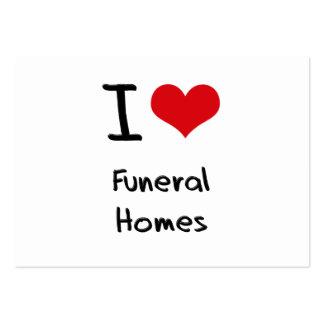 Amo funerarias tarjetas de visita