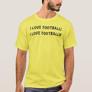 ¡Amo fútbol! ¡Amo fútbol!!! Camiseta