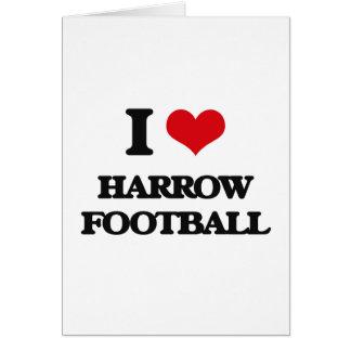 Amo fútbol de la grada tarjetas