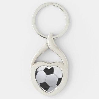 Amo fútbol llavero