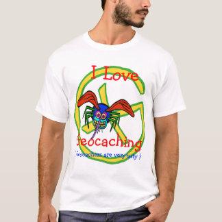 Amo Geocaching Camiseta