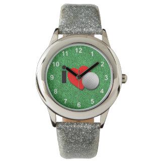 Amo golf relojes de pulsera