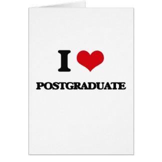 Amo graduado tarjetas