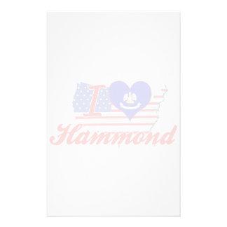 Amo Hammond, Luisiana Papelería
