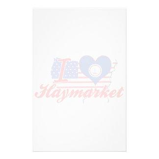 Amo Haymarket, Virginia Papelería De Diseño
