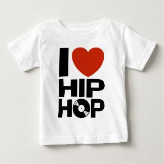 Amo Hip Hop Camiseta De Bebé