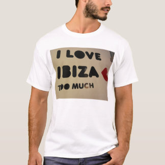amo ibiza que amamos ibiza cada uno ama ibiza camiseta