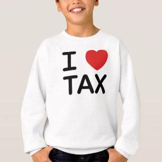 Amo impuesto sudadera
