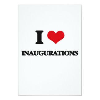 Amo inauguraciones invitación 8,9 x 12,7 cm