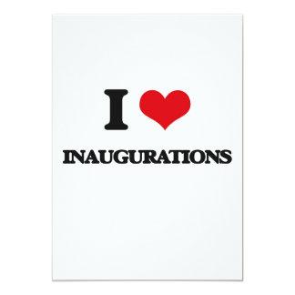 Amo inauguraciones invitación 12,7 x 17,8 cm