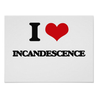 Amo incandescencia posters