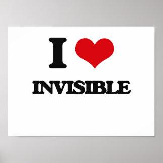 Amo invisible impresiones