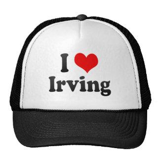 Amo Irving, Estados Unidos Gorros