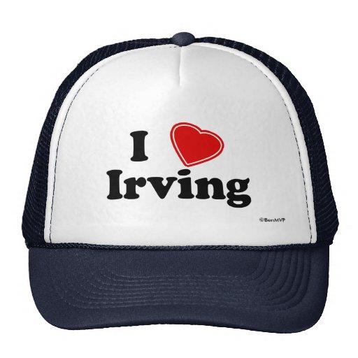 Amo Irving Gorras