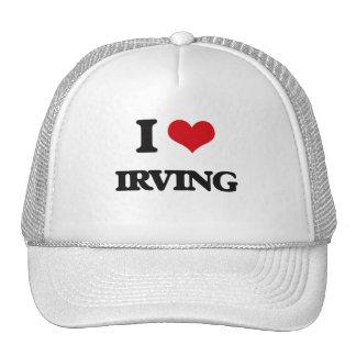 Amo Irving Gorros Bordados