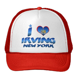 Amo Irving, Nueva York Gorras