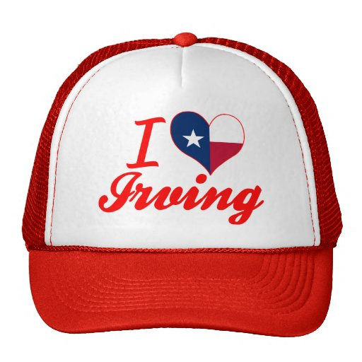 Amo Irving, Tejas Gorras De Camionero