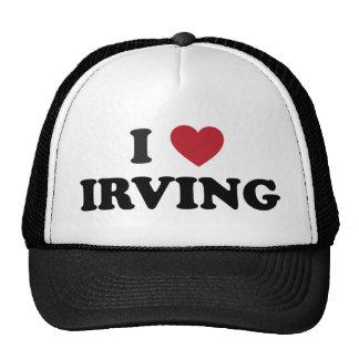 Amo Irving Tejas Gorros Bordados