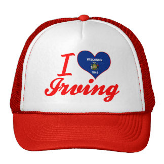 Amo Irving, Wisconsin Gorras