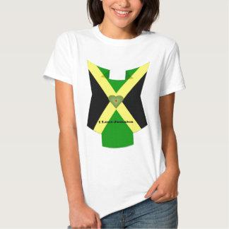 Amo Jamaica tengo Niza un día y una mejor noche Camisetas