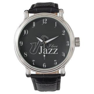 Amo jazz reloj