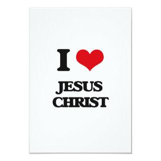 Amo Jesucristo Invitación 8,9 X 12,7 Cm