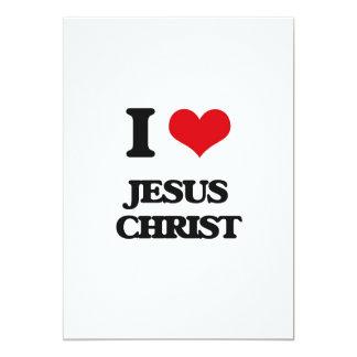 Amo Jesucristo Invitación 12,7 X 17,8 Cm