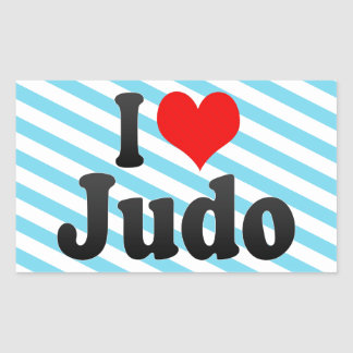 Amo judo pegatina