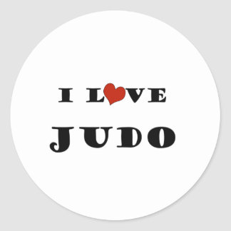 Amo Judo png Pegatinas Redondas