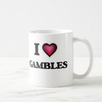 Amo juegos taza de café