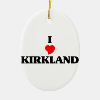 Amo Kirkland Adorno Ovalado De Cerámica
