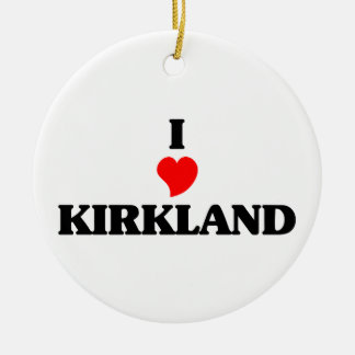 Amo Kirkland Adorno Redondo De Cerámica