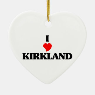 Amo Kirkland Adorno De Cerámica En Forma De Corazón