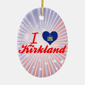 Amo Kirkland Nueva York Adornos De Navidad
