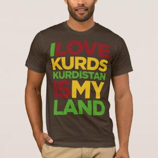 Amo Kurds y el Kurdistan Camiseta