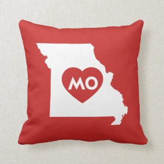 Amo la almohada del estado de Missouri