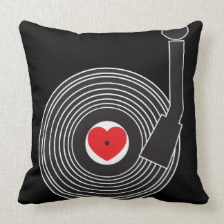 Amo la almohada del vinilo (del corazón)