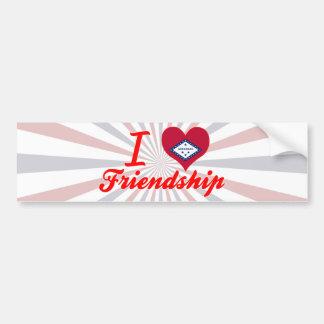 Amo la amistad, Arkansas Etiqueta De Parachoque