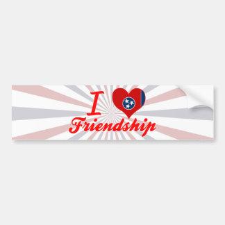 Amo la amistad, Tennessee Etiqueta De Parachoque