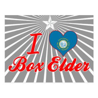Amo la anciano de caja, Dakota del Sur Tarjetas Postales