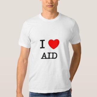 Amo la ayuda camisas