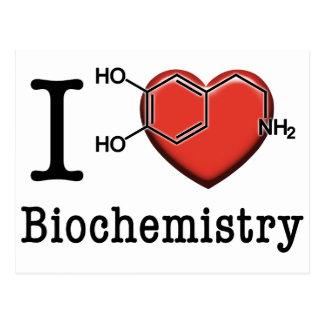 Amo la bioquímica postal