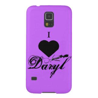 Amo la caja del teléfono de Daryl Carcasas Para Galaxy S5