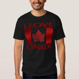 Amo la camisa de Canadá del tamaño extra grande de