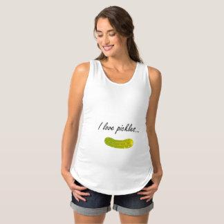 Amo la camisa de la maternidad de las salmueras