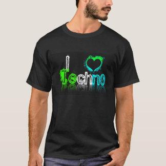 Amo la camisa de Techno