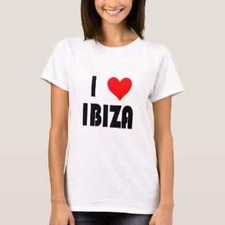 Amo la camiseta de Ibiza