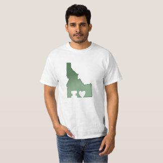 Amo la camiseta de Idaho