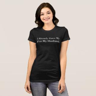 Amo la camiseta de la boda