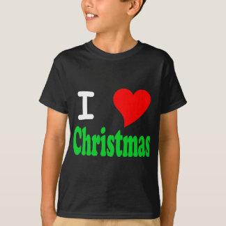 Amo la camiseta de la oscuridad de los niños del